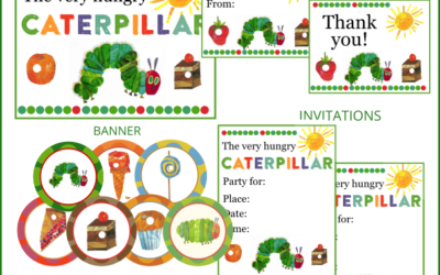 Very Hungry Caterpillar Party Printables