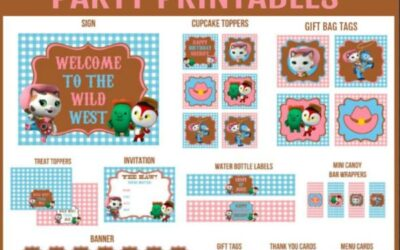 Sheriff Callie's Wild West Party Printables