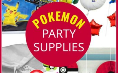 Pokemon Party Supplies