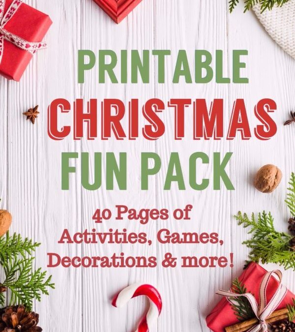 Christmas Printable Activity Family Fun Pack