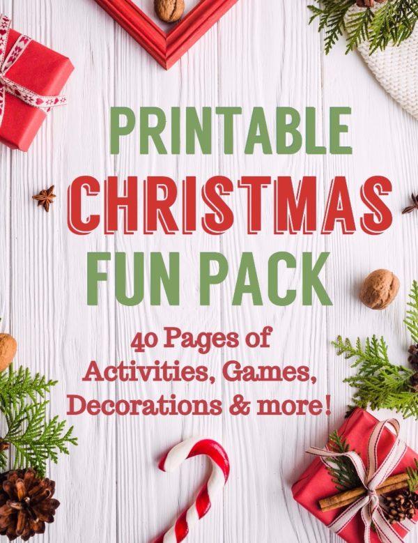 Christmas Printable Activity Family Fun Pack