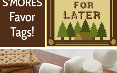 Printable S'mores Gift Tags