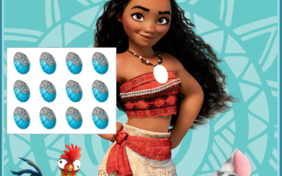 Moana Printable Party Game