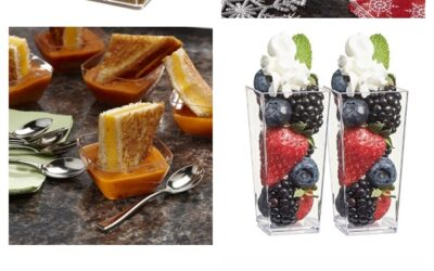 Adorable Mini Dessert Glasses
