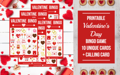 Valentine Bingo Printable Game