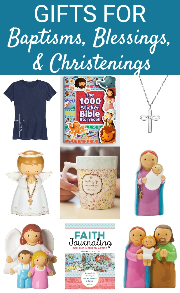 Gifts for Christening, Baptism and Blessing Parties