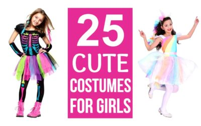Super Cute Halloween Costumes for Girls
