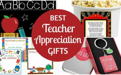 Best Teacher Appreciation Gifts!