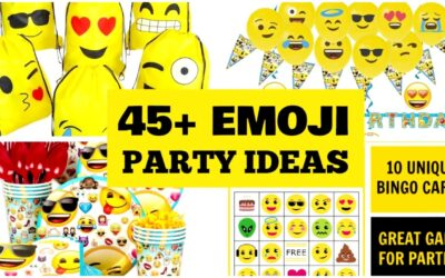Emoji Party Ideas, Printables and Supplies!