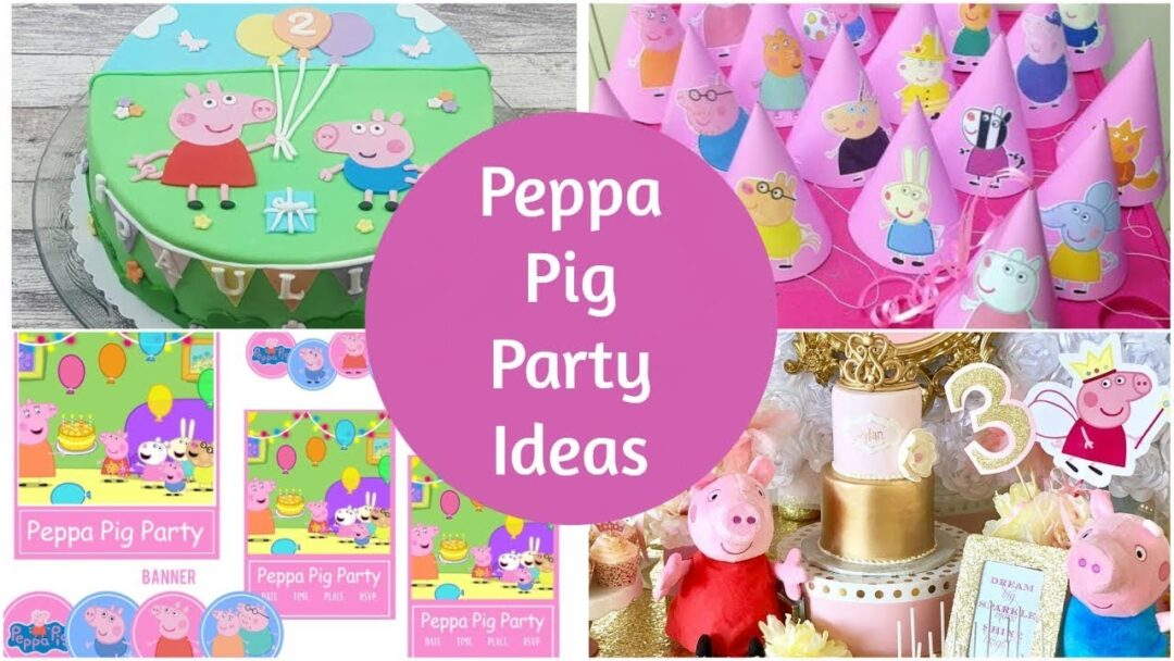 Peppa Pig Party Ideas: Printables, Supplies and more!
