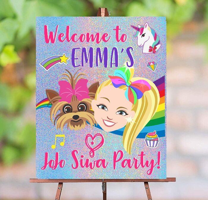 JoJo Siwa Party Sign Printable – 16×20