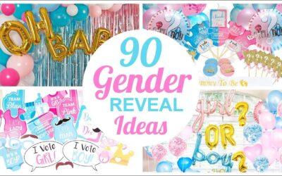 Best Gender Reveal Baby Shower Ideas