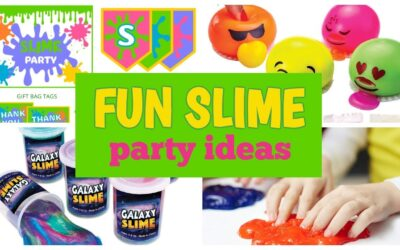 Slime Party Printables, Ideas & Supplies